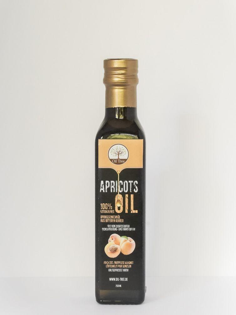 Kaltgepresstes Aprikosenkernöl